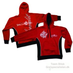 Quantum - Hooded Sweatshirt red/black