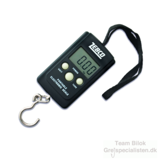 Zebco - Digital Pocket Scale 40 kg