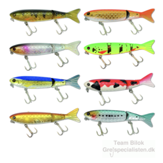 Gedde hard lures